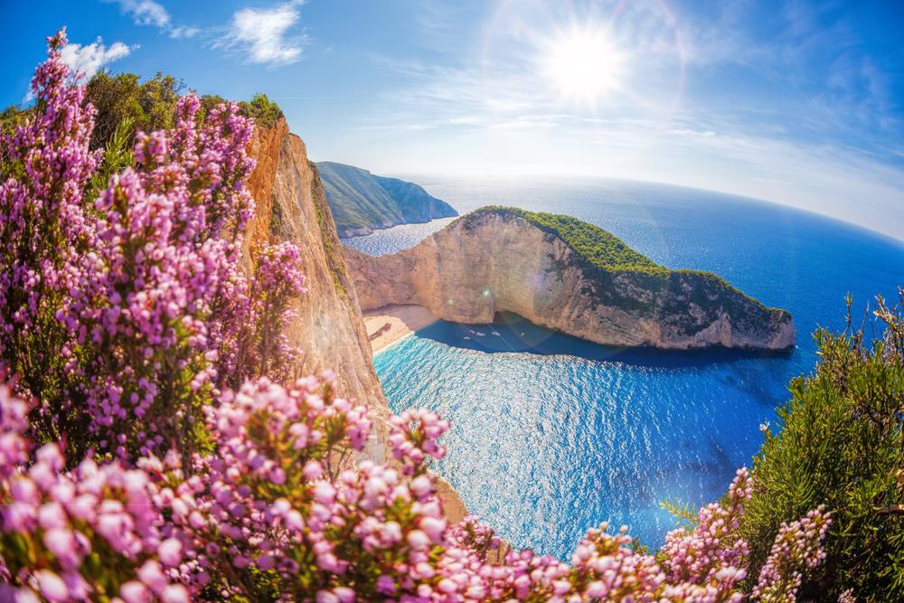Пляж Навайо. Закинф, Греция.