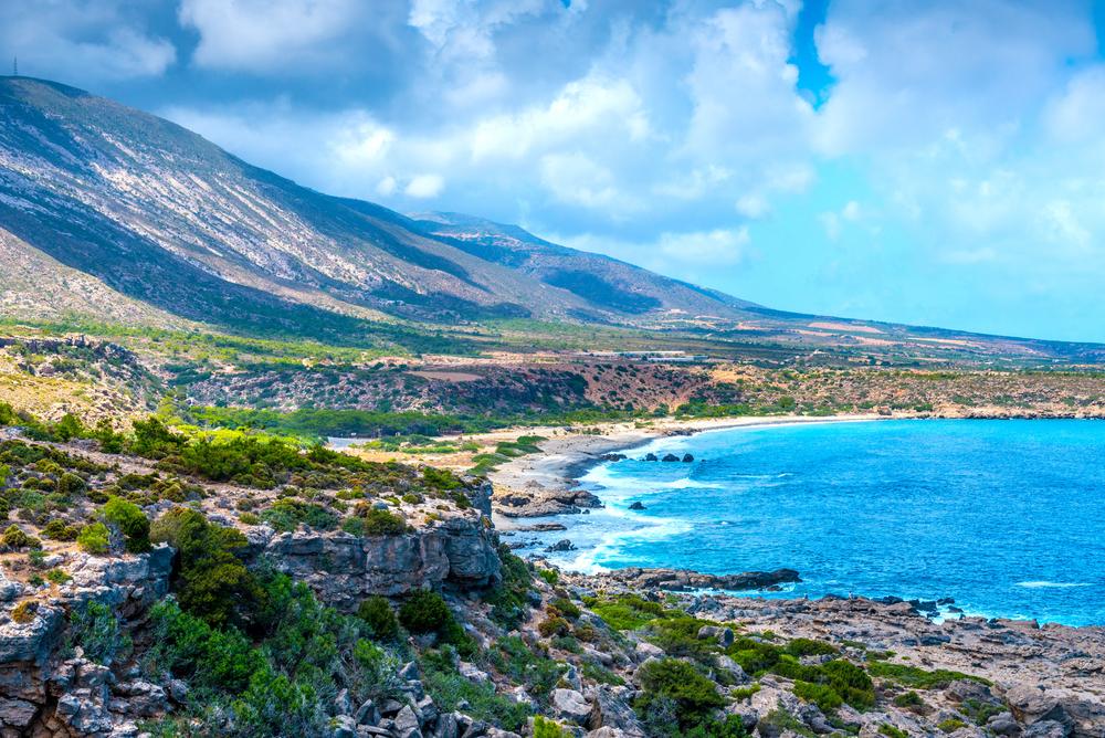 Малия в июле. Крит, Греция.