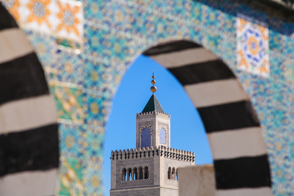 Мечеть Зитуна, медина Туниса. Тунис, Тунис.
