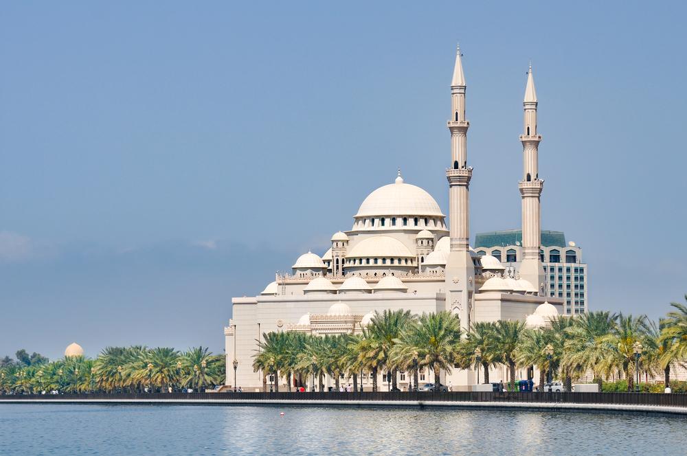 Мечеть Короля Фейсала, Шарджа, ОАЭ.