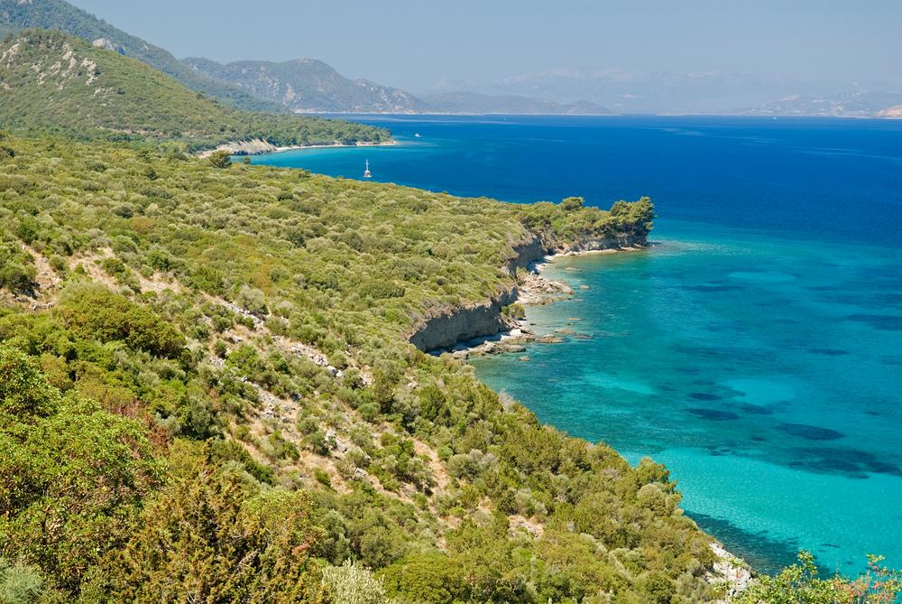 Национальный парк Дилек, Турция.