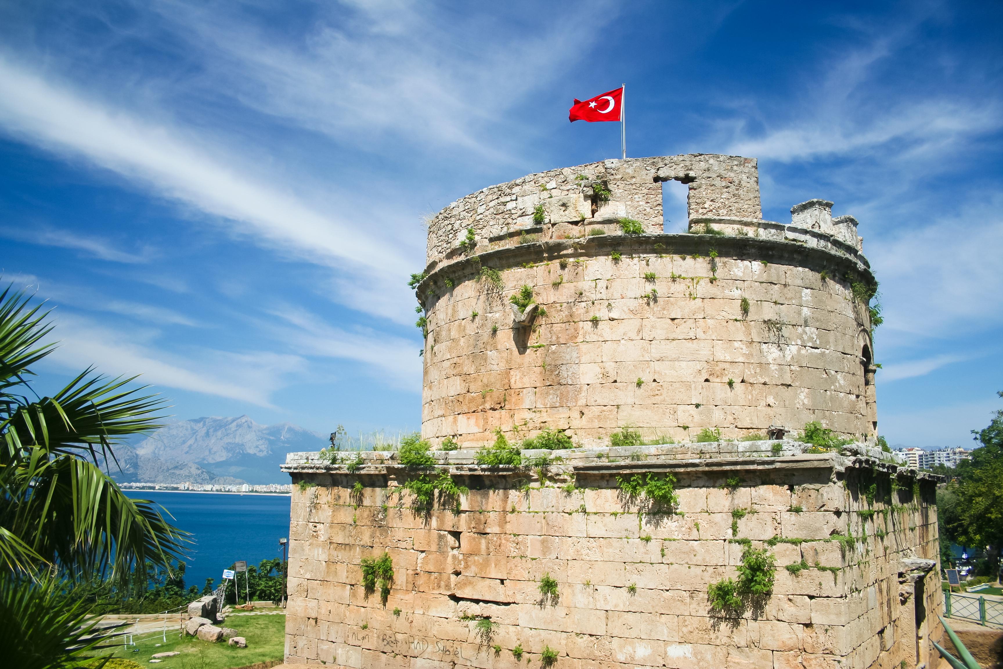Крепость Хыдырлык. Анталия, Турция.