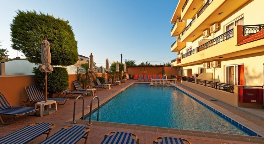 Отель Alea Hotel. Родос, Греция.