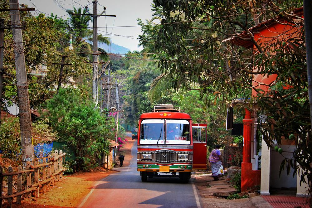 Автобус, Гоа, Индия.