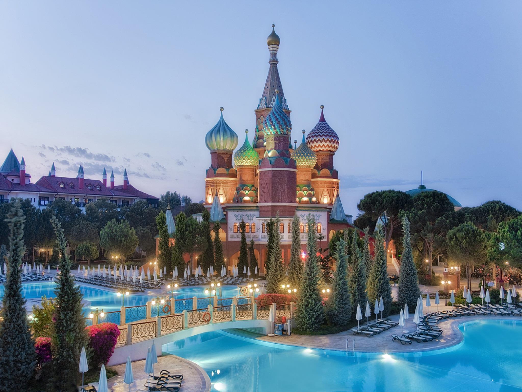 Отель WOW Kremlin Palace. Анталия, Турция.