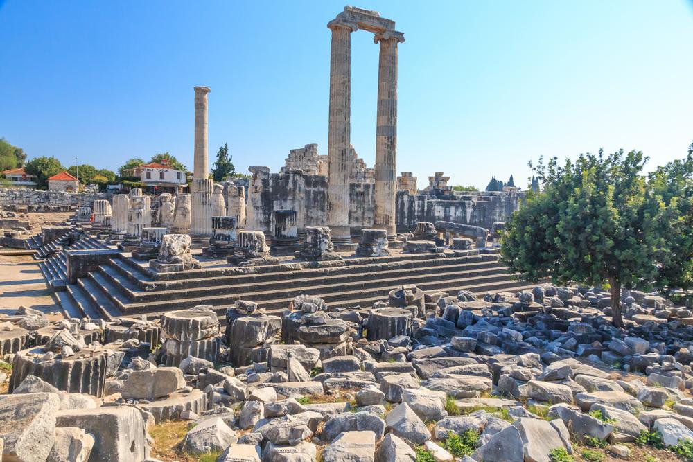 Храм Аполлона в Дидиме, Кушадасы, Турция.