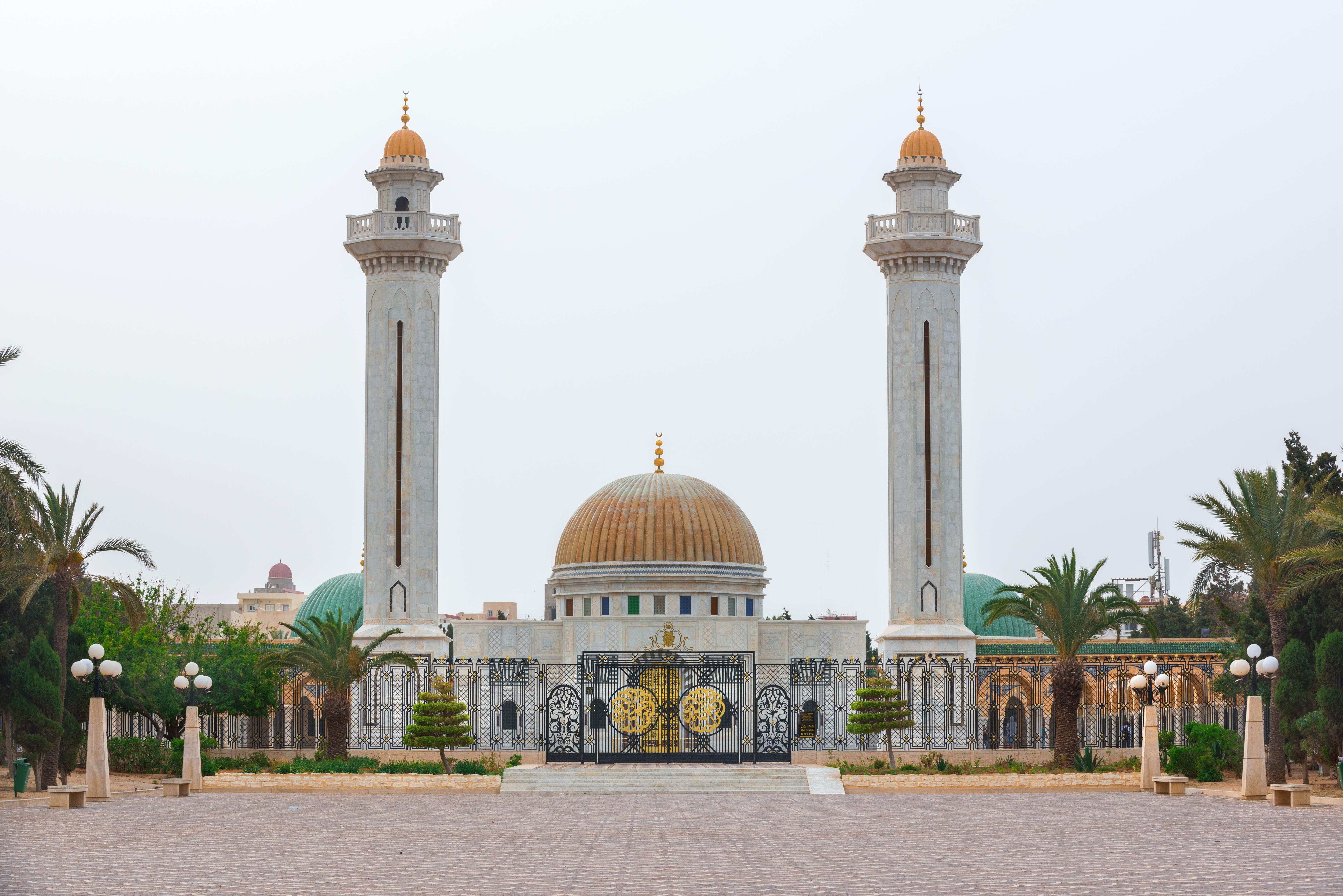 Мавзолей Хабиба Бургибы, Монастир, Тунис.