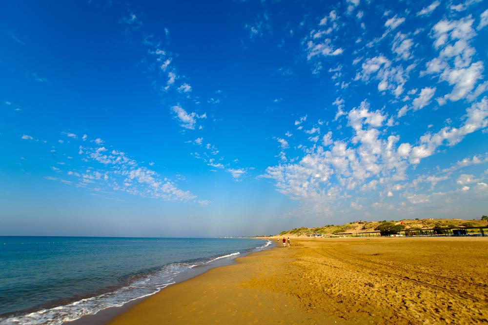 Восточный пляж. Сиде, Турция.