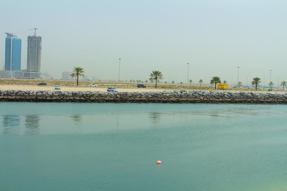 Пляж Аль-Хан, Шарджа, ОАЭ.