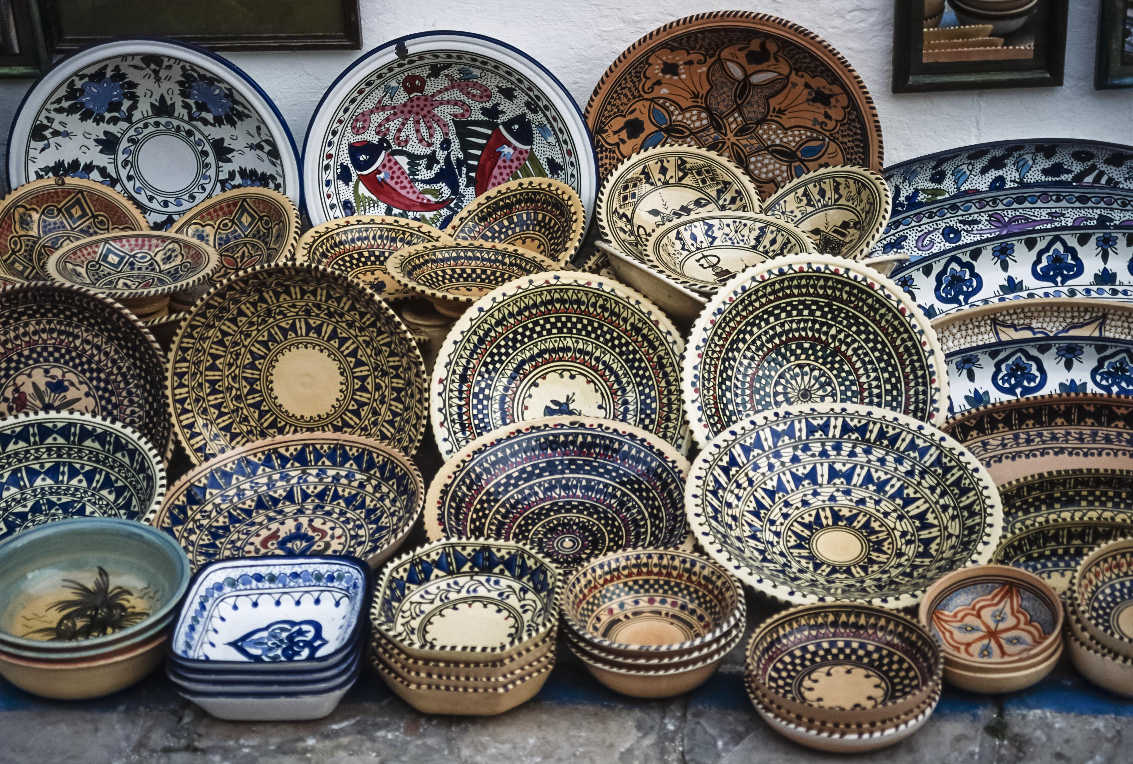 Рынок керамики, Монастир, Тунис.