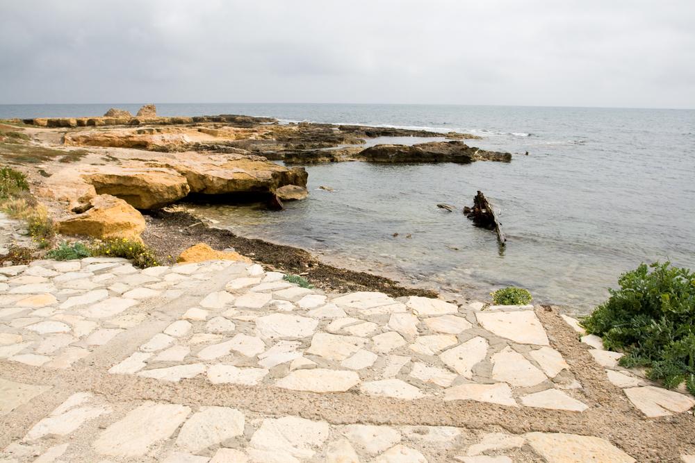 Побережье Махдии. Махдия, Тунис.