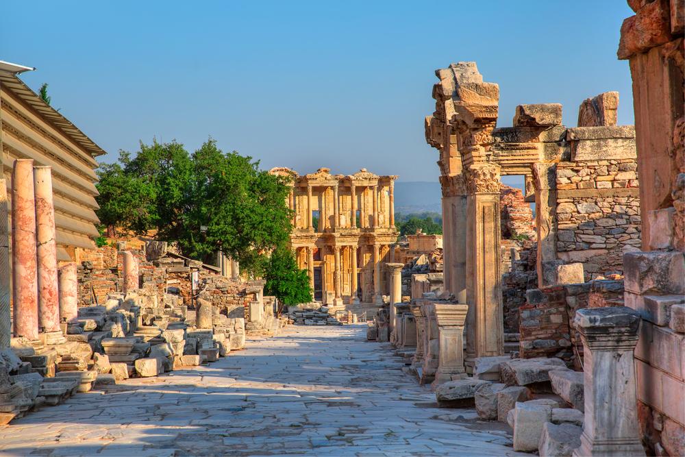 Эфес, Кушадасы, Турция.