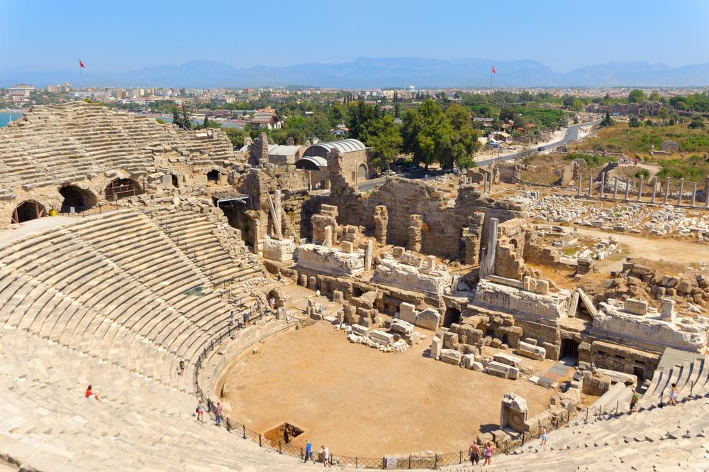 Античный театр. Сиде, Турция.