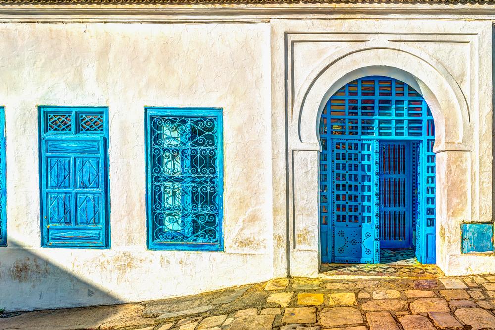 Улицы Махдии. Махдия, Тунис.