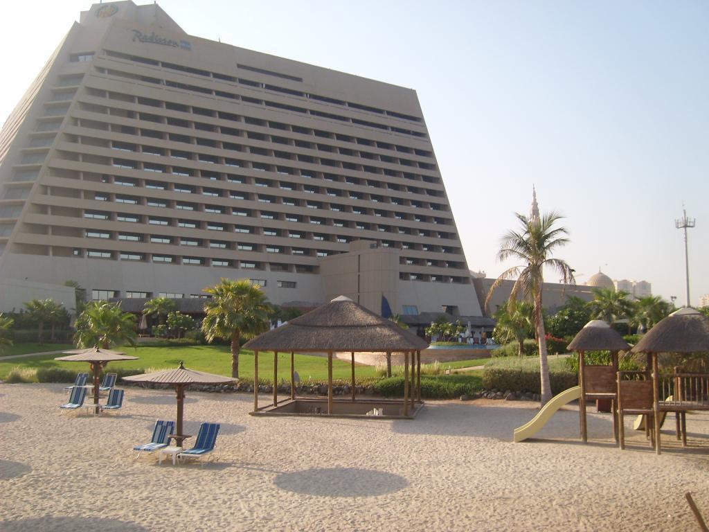Отель Radisson Blu Resort Sharjah, Шарджа, ОАЭ.