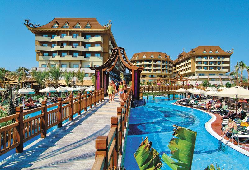 Отель Royal Dragon. Сиде, Турция.