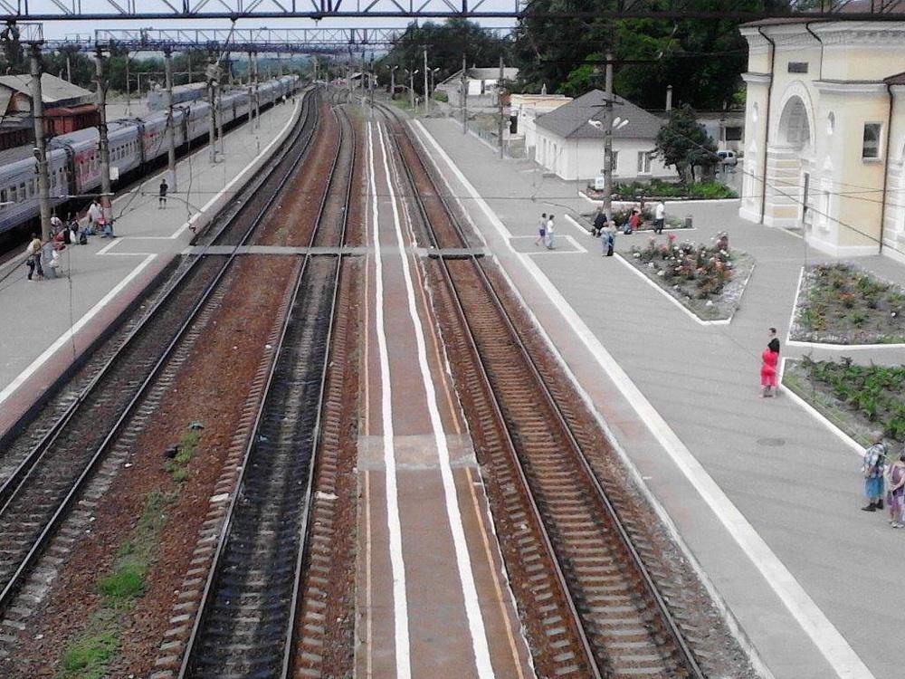 Вокзал Каменская