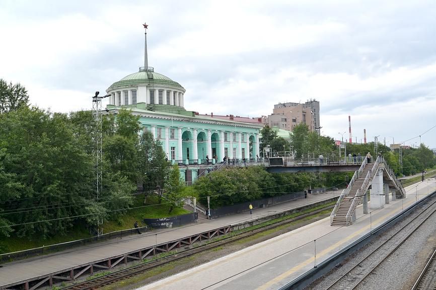 Вокзал Мурманск