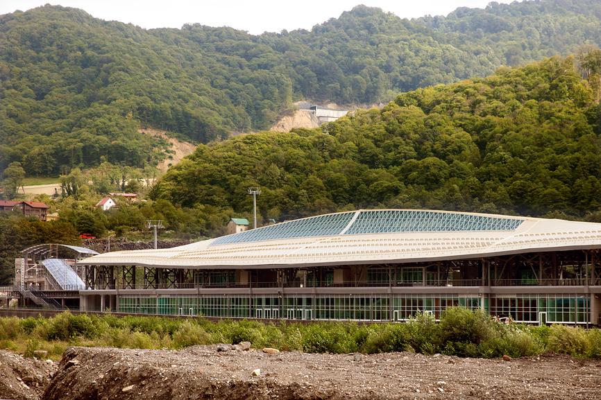 Вокзал Эсто-садок