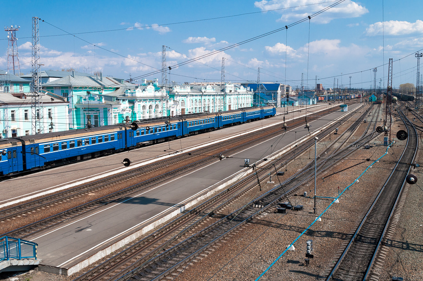 Вокзал Тайга