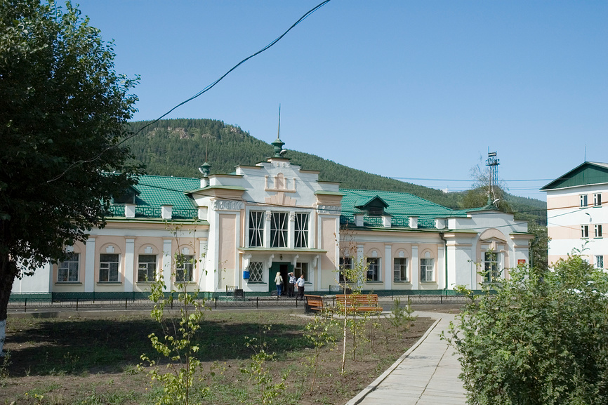 Вокзал Лена