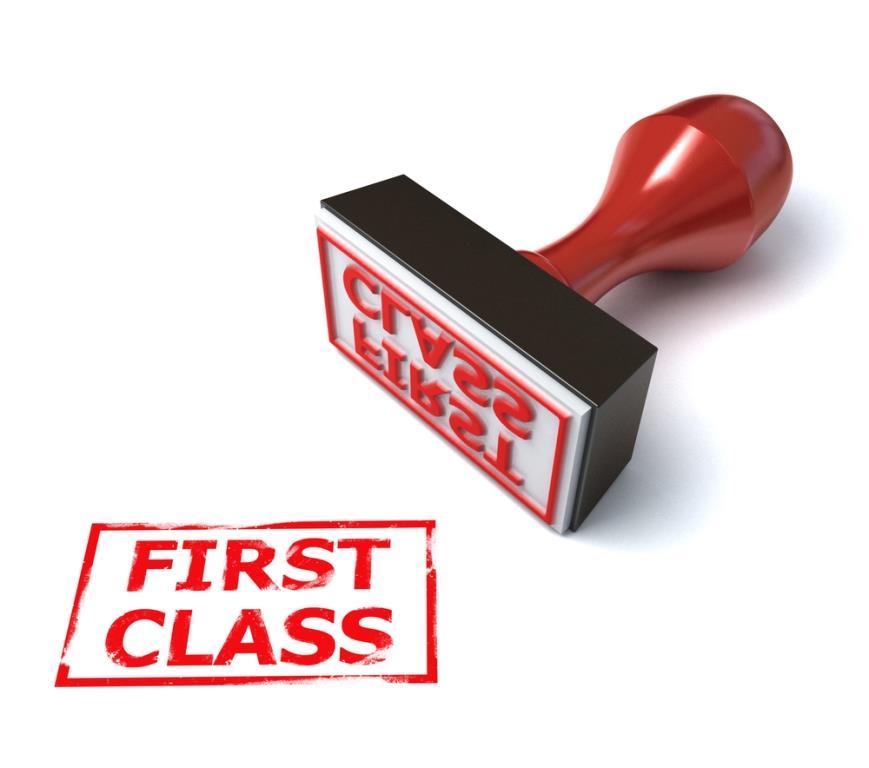 Первый класс в Сапсане