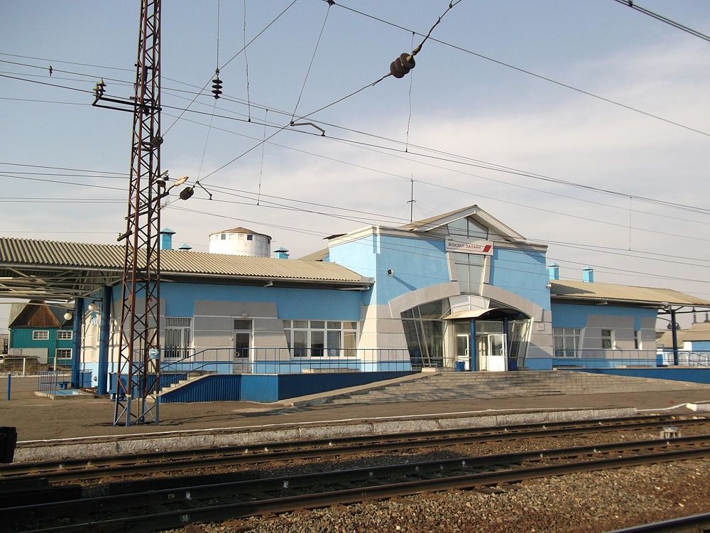 Вокзал Залари