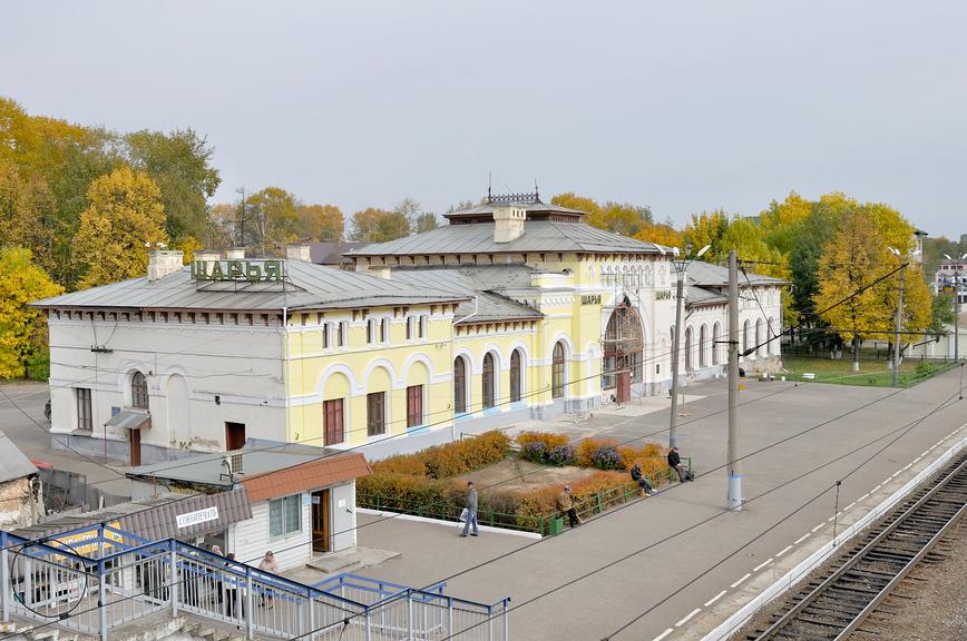 Вокзал Шарья