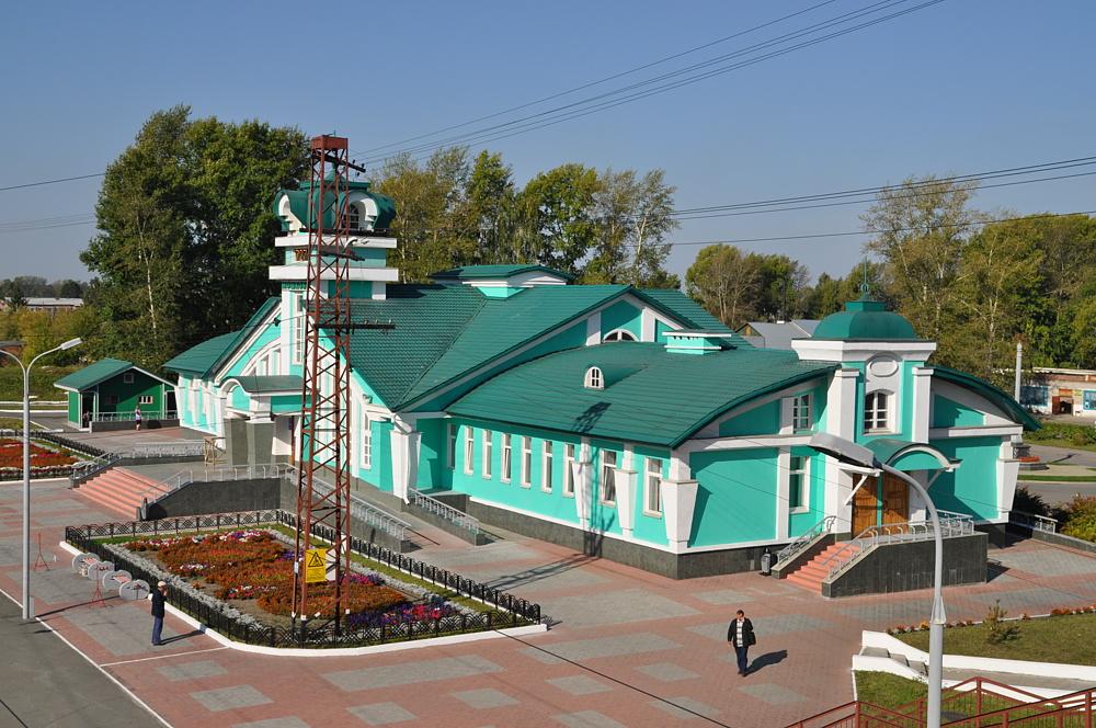 Вокзал Мошково