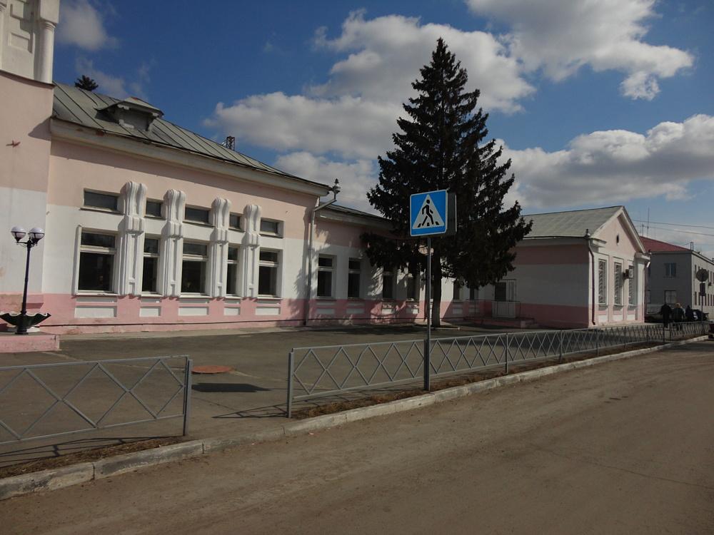 Вокзал Троицк