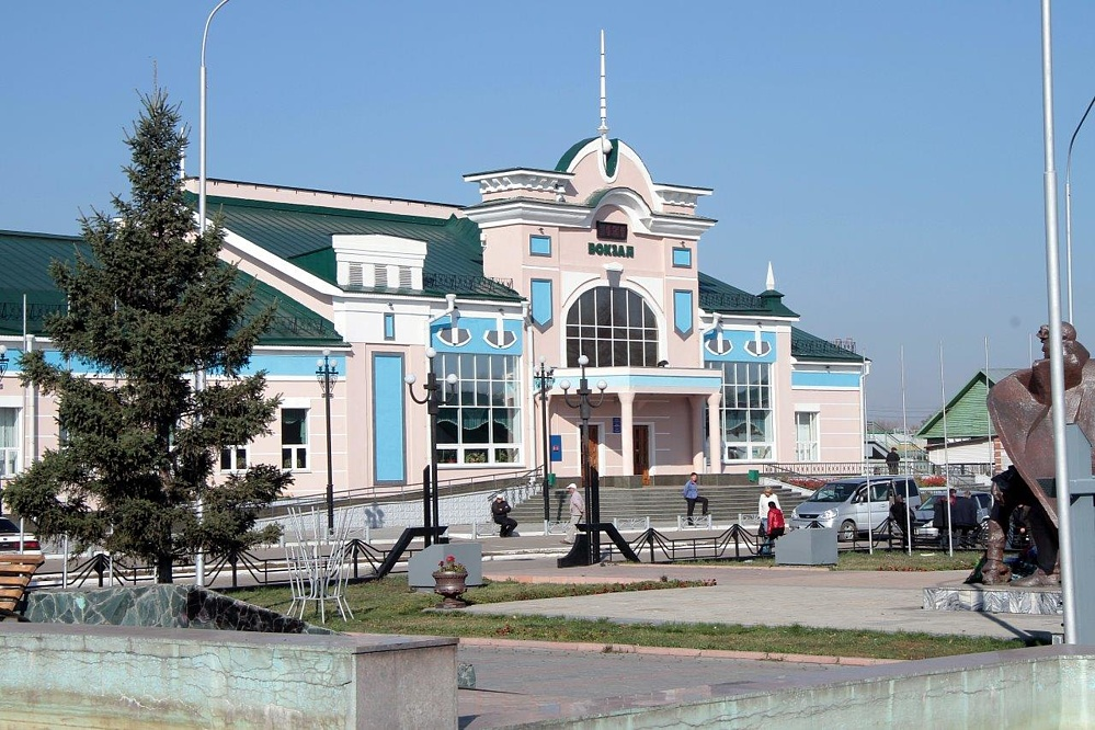 Вокзал Рубцовск