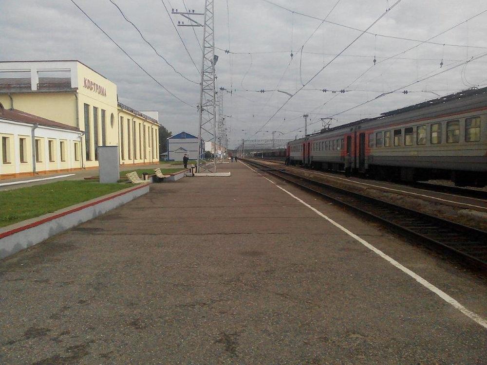 Вокзал Кострома
