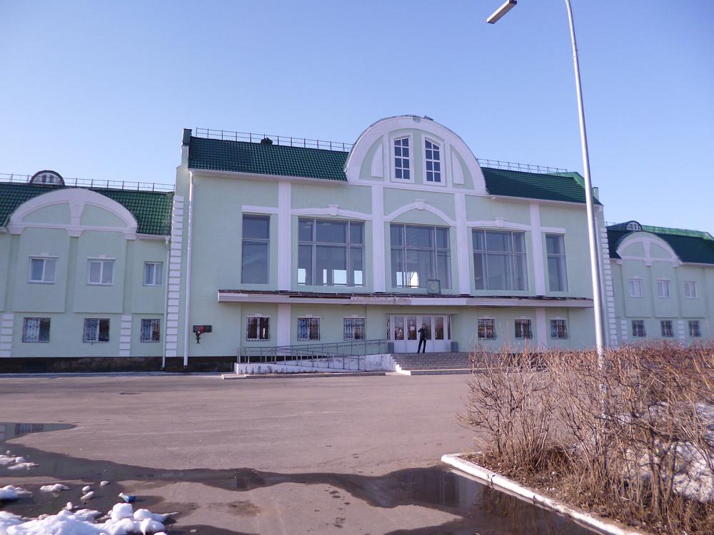 Вокзал Боготол