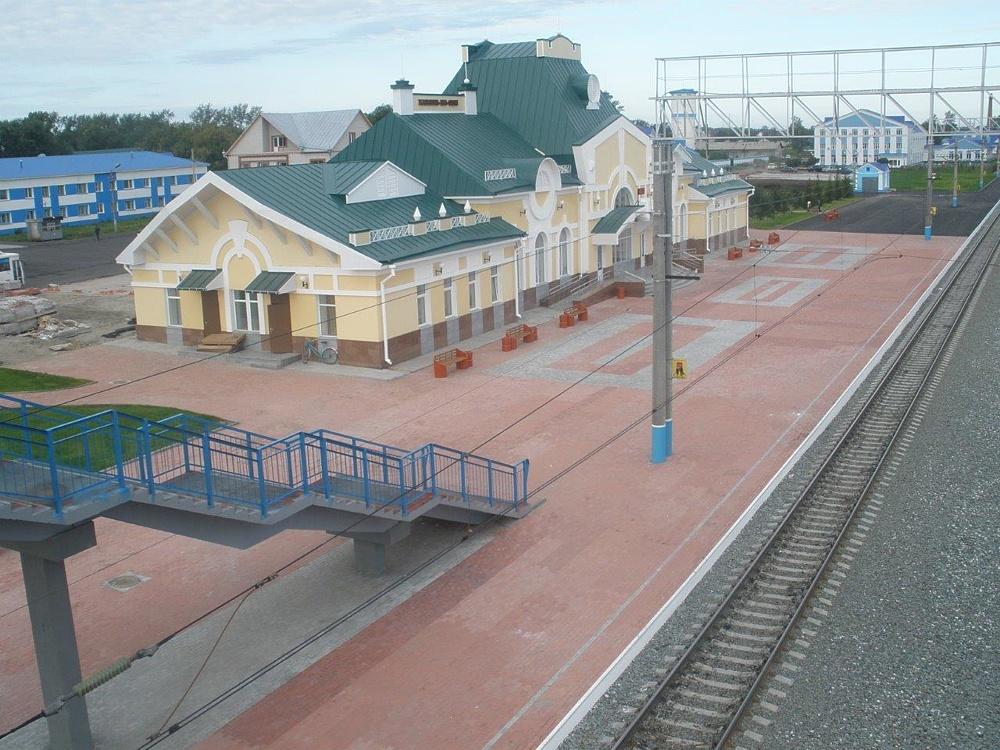 Вокзал Камень-на-Оби