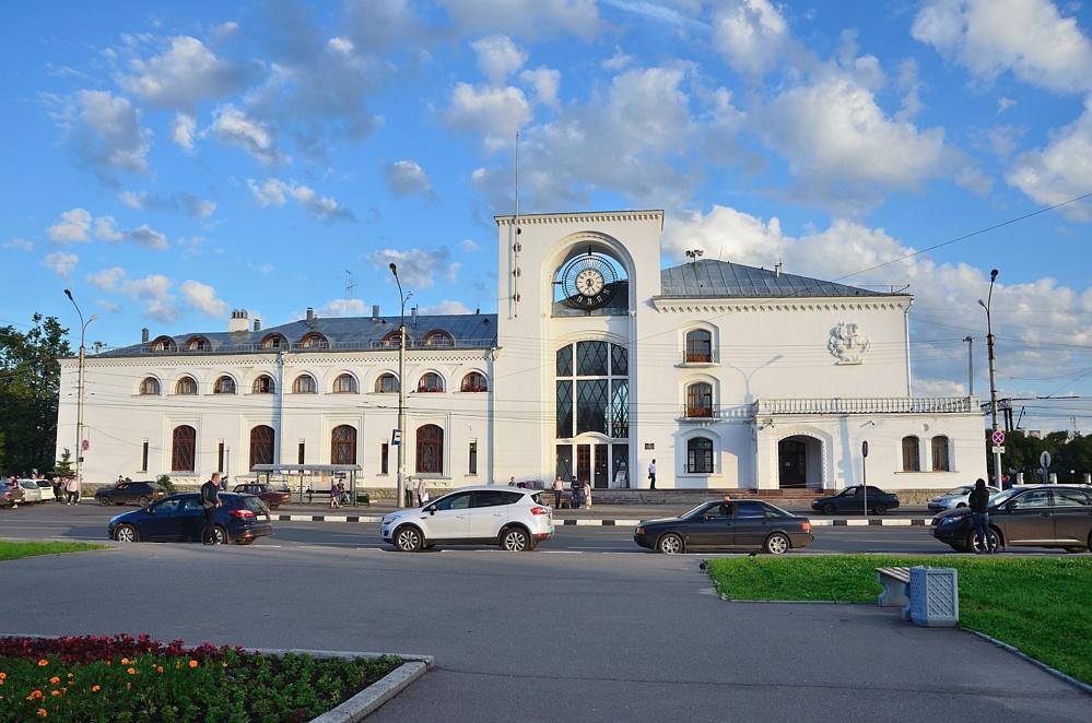 Вокзал в Великом Новгороде