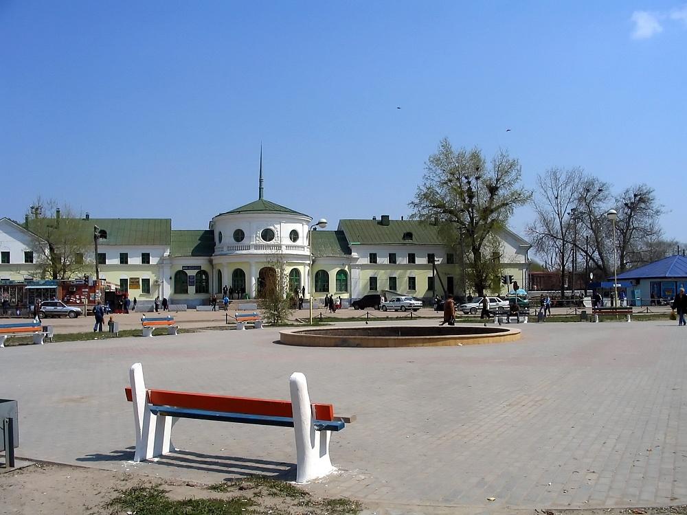 Вокзал Фролово