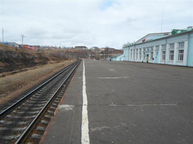 Вокзал Ванино