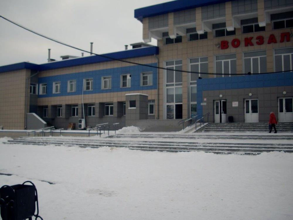 Вокзал Зима