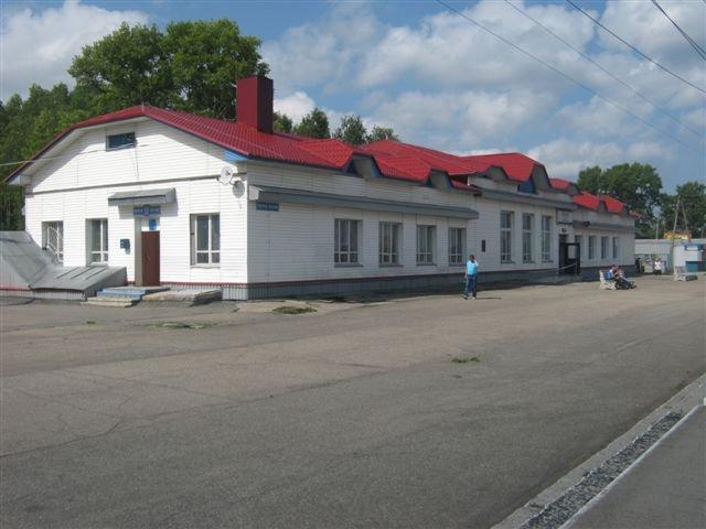 Вокзал Плесецкая