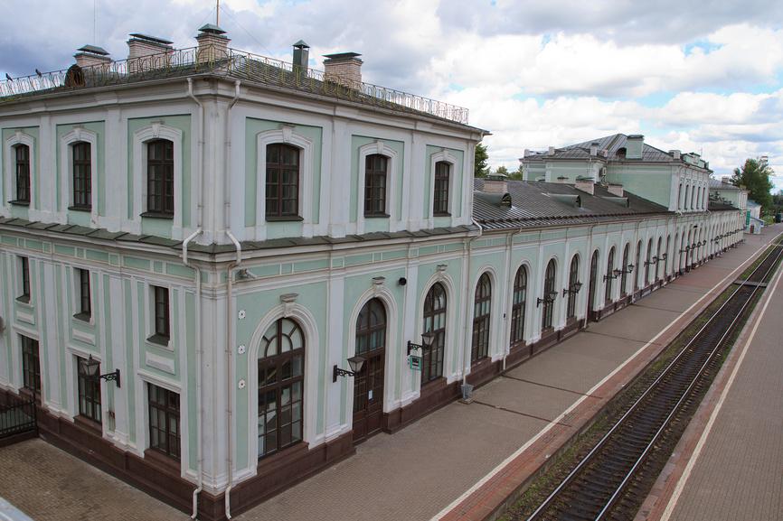 Вокзал Псков