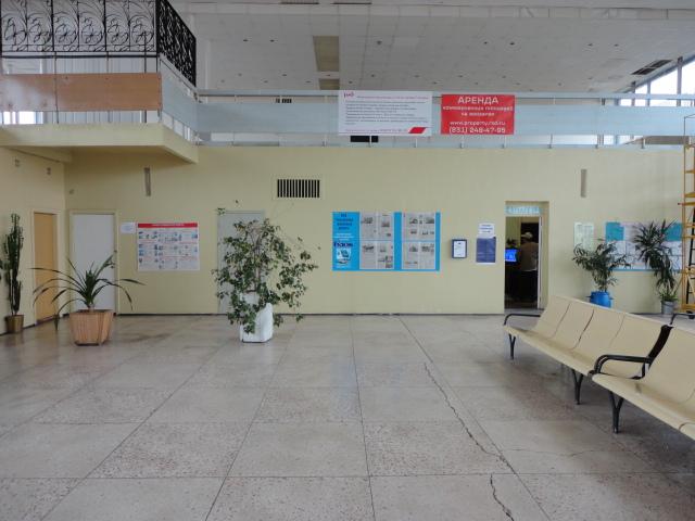 Вокзал Глазов