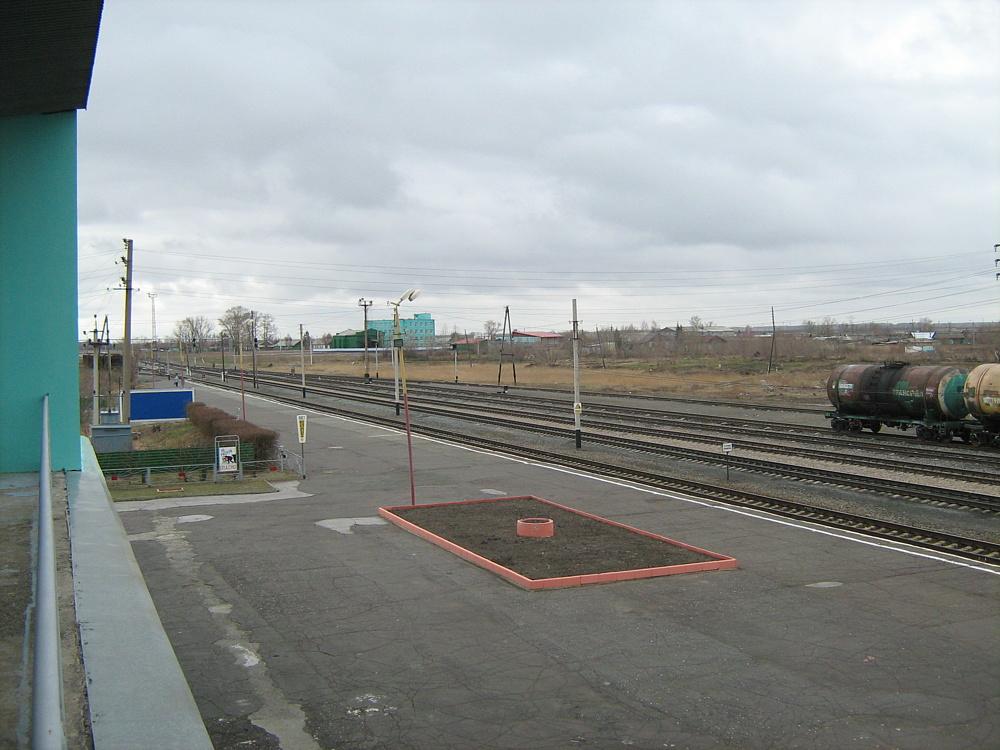 Вокзал Купино