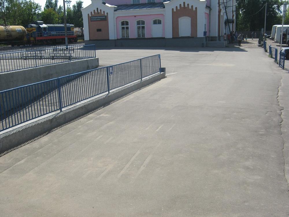 Вокзал Кинешма