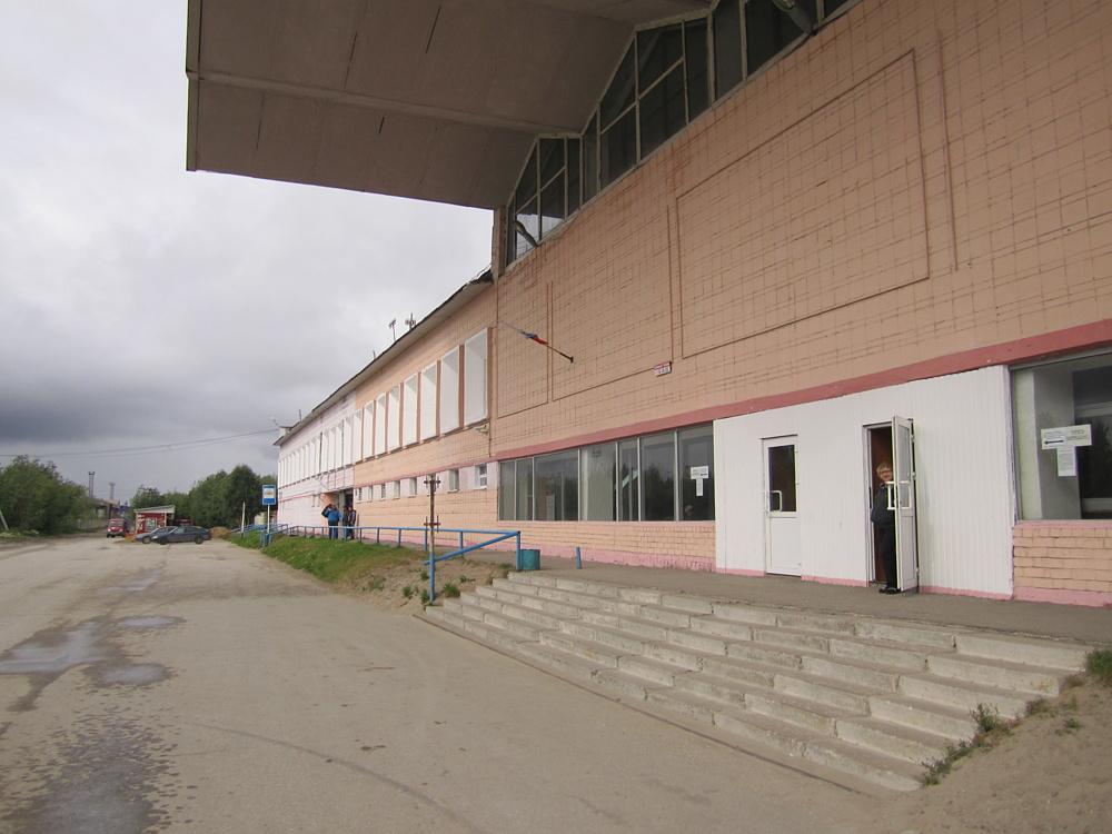 Вокзал Усинск