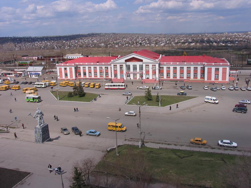 Вокзал Магнитогорск