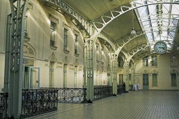 Витебский вокзал изнутри