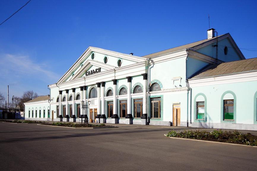 Вокзал Сальск