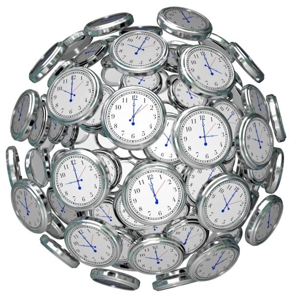Часовые пояса и железные дороги