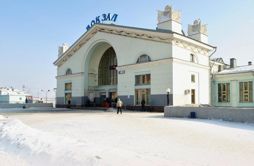 Вокзал Киров