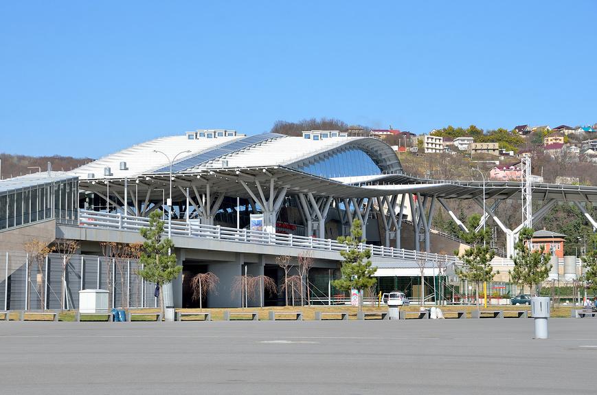 Вокзал Олимпийский парк